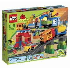 レゴ デュプロ デラックストレインセット 10508【新品】 LEGO 知育玩具 【宅配便のみ】