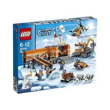 レゴ シティ スノーベースキャンプとクローラードリル 60036【新品】 LEGO 知育玩具 【宅配便のみ】