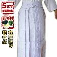 ● 剣道 袴 ・ 白(ひだが取れにくい、洗濯や練習後の整え簡単、内ヒダ縫製加工)