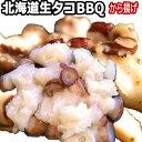 生タコ BBQ 用 北海道産 生たこ 室蘭水族館名物 特産品 海鮮BBQ 皮むき生蛸 活タコ 仕様 塩味付き 200g