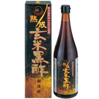 熟成玄米黒酢  720ml