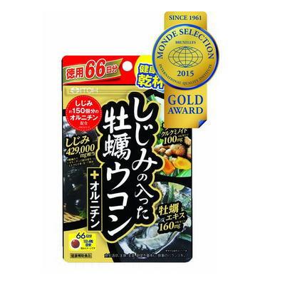 しじみの入った牡蠣ウコン+オルニチン 264粒の商品画像
