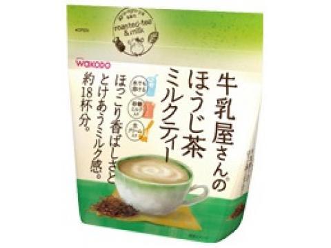 牛乳屋さんのほうじ茶ミルクティー 袋 200g