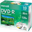 maxell 録画用DVD-R 16倍速 10枚パック DRD120WPE.10S 1R