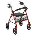 【取寄】【代引不可】歩行車 歩行器 Piacere Uno(ピアチェーレ ウノ) レッド 10257RD-1 ドライブデヴィルビス【送料無料】