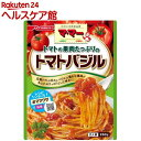 マ・マー トマトの果肉たっぷりのトマトバジル(260g)【マ・マー】[パスタソース]