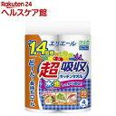 エリエール 超吸収キッチンタオル 70カット(4ロール)【y...