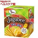 じゃがビー うすしお味(16g*5袋入*12コセット)【じゃがビー(Jagabee)】