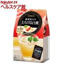 日東紅茶 厳選果汁のとろける白桃(10本入)【19_k】【日東紅茶】