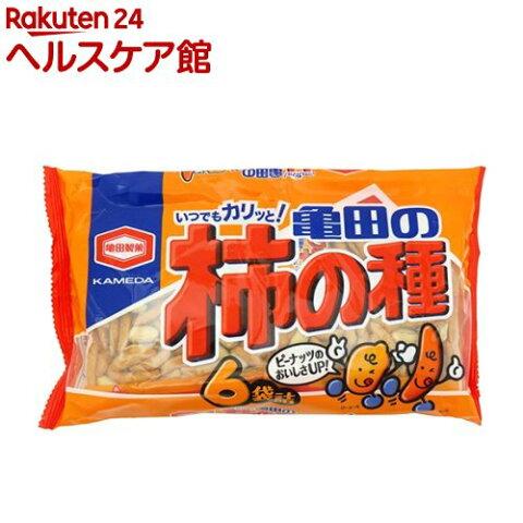 亀田の柿の種 6袋詰(200g)【亀田の柿の種】