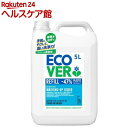 エコベール 食器用洗剤 カモミールの香り(5L)【エコベール(ECOVER)】