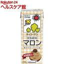 キッコーマン 豆乳飲料 マロン(200mL*18本入)