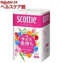 スコッティ フラワーパック 2倍巻き ダブル(12ロール)【...