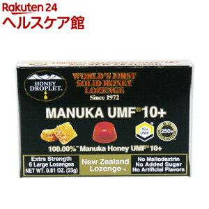 ハニージャパン ハニードロップレット UMFマヌカハニー10プラス(23g)