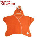 タッペンス&クランブル 星形フリースアフガン スターラップ 0-4M オレンジ(1コ入)【タッペンス&クランブル】【送料無料】
