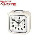 カシオ 置時計 パールホワイト TQ-157-7BJF(1コ入)