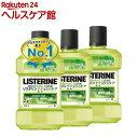 薬用リステリン ナチュラルケア 低刺激タイプ(1L 3コセット)【LISTERINE(リステリン)】