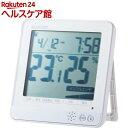 温湿度警告計 熱中・ウィルス 大画面 ホワイト OND-04...