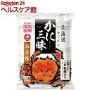 【訳あり】北海道ラーメン かに三昧 みそ味(107g)