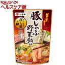 ヤマキ 豚しゃぶ野菜鍋つゆ 旨辛仕立て(750g)