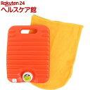 協越化学 足裏湯たんぽ 袋付 2.2L オレンジ(1コ入)【協越化学】