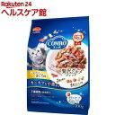 コンボ キャット まぐろ味 カニカマ 小魚添え(140g 5袋入)【コンボ(COMBO)】