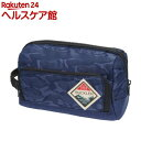 エツミ バックラー DZポーチ 迷彩ブルー VE-3530(1コ入)