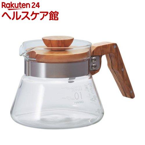 ハリオ コーヒーサーバー400 オリーブウッド VCWN-40-OV(1コ入)【ハリオ(HARIO)】【送料無料】
