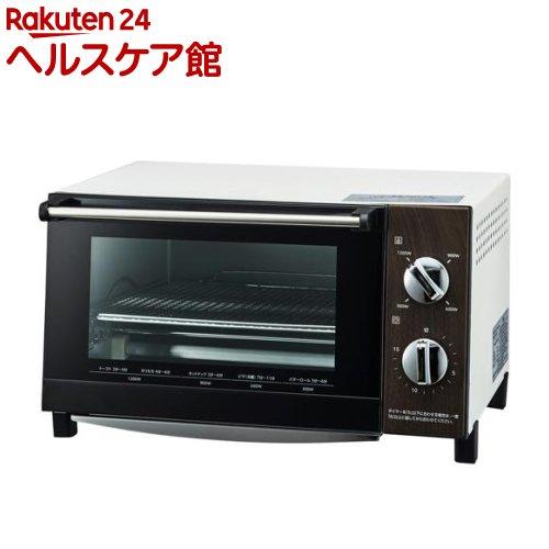 ピエリア 木目調ビッグオーブントースター ダークホワイト DOT-1402DWH(1台)【ピエリア(Pieria)】