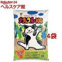猫砂 スーパーキャット ナチュラル100(8L*4コセット)【スーパーキャット】