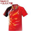 ニッタク ゲームシャツ スカイワールド レッド 130サイズ(1枚入)【ニッタク】