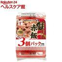 餅屋の作った赤飯 JR-9(160g*3食入)