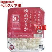 ウーケ 天然水仕立てふんわりごはん 北海道のおこめ ゆめぴりか*24コ(200g24コセット)【ウーケ】【送料無料】