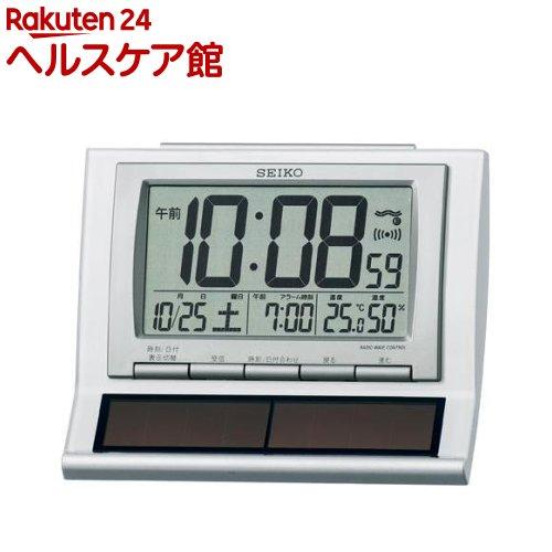 セイコー ソーラー電波目覚まし時計 SQ751W...の商品画像