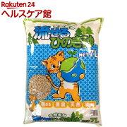 猫砂 天然素材 流せるひのき砂(7L)【オリジナル 猫砂】
