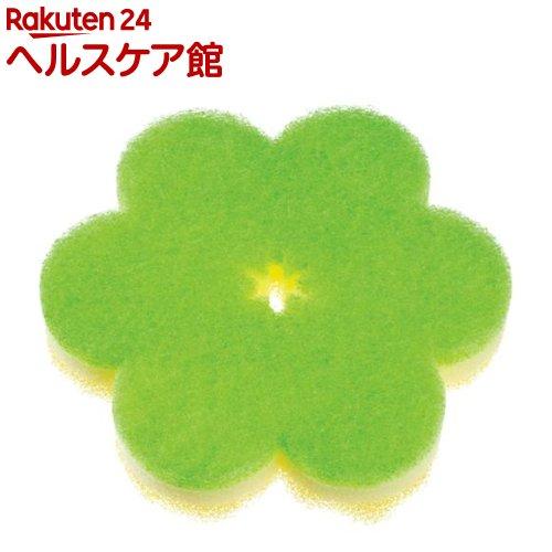 おはなスポンジ グリーン K364G(1コ入)【マーナ】
