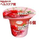 とろける味わい 厳選果汁、名水仕立て 佐藤錦ジュレ(210g*36個セット)【たらみ】