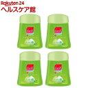 ミューズ ノータッチ泡ハンドソープ 詰替え ボトル グリーンティーの香り(250mL 4コセット)【ミューズ】