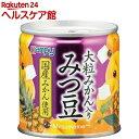 【訳あり】カンピー 国産大粒みかん入り みつ豆(190g)【カンピー】