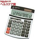 ADESSO(アデッソ) ビックディスプレイ電卓セミ12桁 M-02(1台)【ADESSO(アデッソ)】