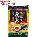 かおりちゃん 黒豆入り麦茶 ティーパック 40包 400g