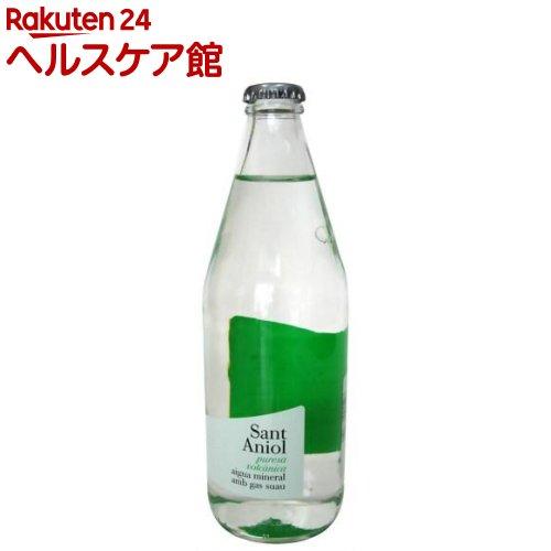 サンタニオル ミネラルウォーター 微炭酸 ガラス瓶(緑)(500mL)【サンタニオル】