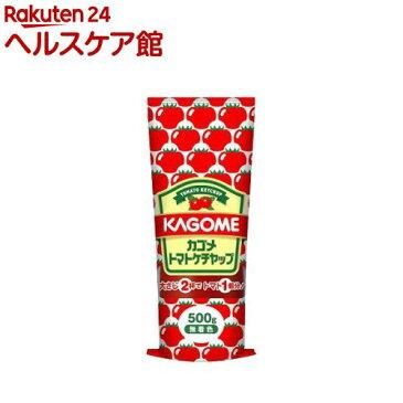 カゴメ トマトケチャップチューブ(500g)