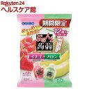 ぷるんと蒟蒻ゼリー パウチ イチゴ+メロン(20g*12コ入...