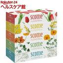 スコッティ ティシュー フラワーボックス(320枚(160組...