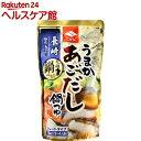 ニビシ うまかあごだし鍋つゆ(720mL)【ニビシ】