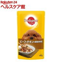 ペディグリー 成犬用 ビーフ&チキン&緑黄色野菜(130g)...