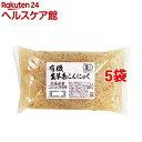 ムソー 有機生芋糸こんにゃく・広島原料 81706(150g*5