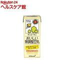 キッコーマン おいしい無調整豆乳(200mL 18本入)