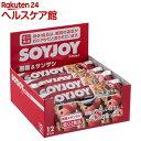 SOYJOY(ソイジョイ) 黒糖&サンザシ(30g*12本入...